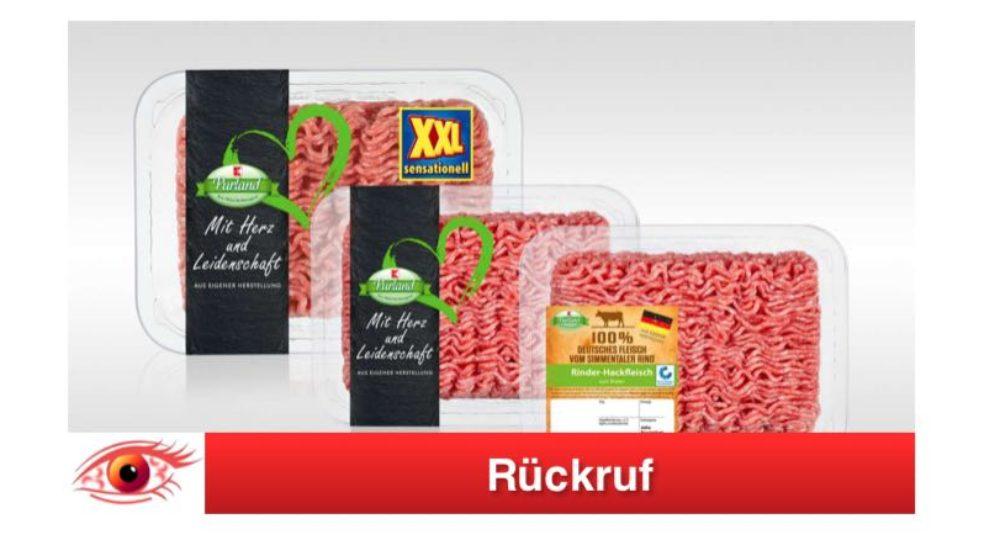 Kaufland Rückruf: K-Purland Hackfleisch wegen Glassplitter