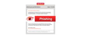 2018-01-18 norisbank Spam aktuell Aktivierung des pushTAN Verfahrens