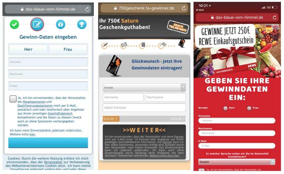 2018-03-06 Kettenbrief im Namen von Spar Austria führt zu Datensammler