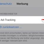 Anleitung iOS Ad-Tracking deaktivieren 4
