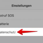 Anleitung iOS ortsabhaengige Werbung deaktivieren 2