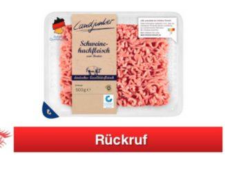 Lidl Rückruf Landjunker Hackfleisch