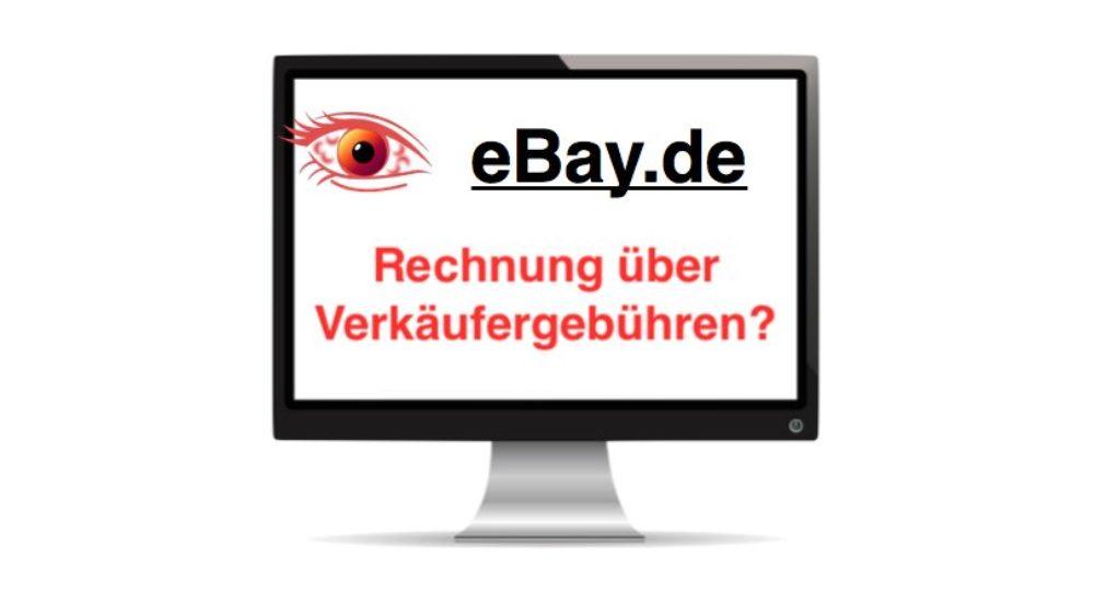 """Vorsicht Malware: eBay-E-Mail """"Rechnung über Ihre Verkaeufergebuehren bei eBay.de"""" enthält Schadsoftware"""