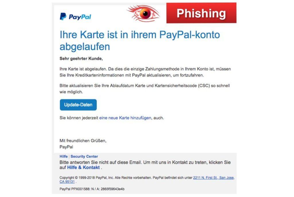 2018-02-26 PayPal Phishing