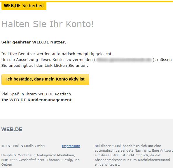 2018-06-02 web.de Spam Mail Benutzer geloscht
