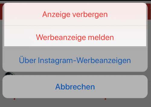 Instagram was melden heißt spam kindlajujil: Was