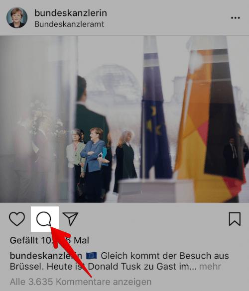 Instagram Melden