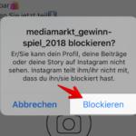 Instagram Profil blockieren 3