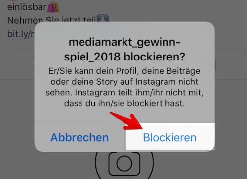 Instagram was melden heißt spam Instagram Spam