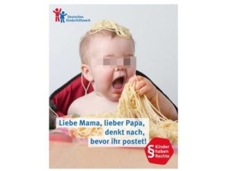 Kinderfotos im Internet