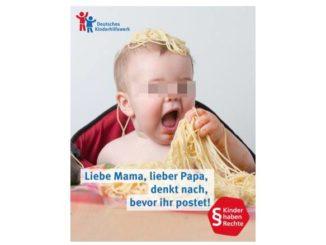Kinderfotos im Internet