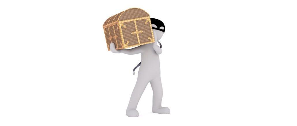 Symbolbild Geldtransport, Geldkoffer, Betrug