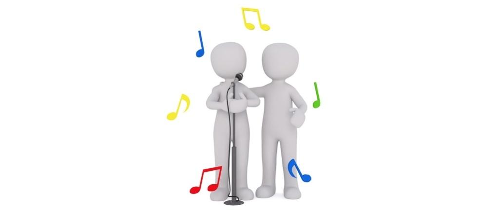 Symbolbild Singen Gesang