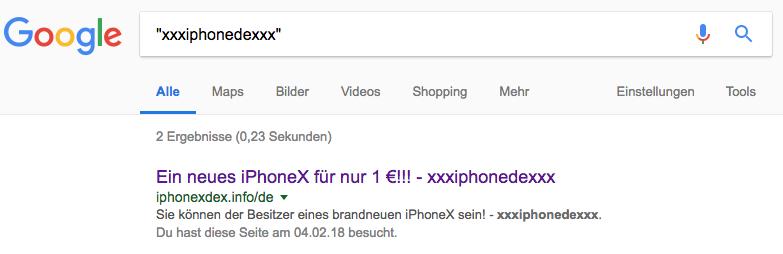 iPhoneX Gewinnspiel