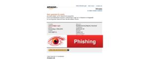 2018-03-02 Amazon Phishing Mail Wichtige Mitteilung