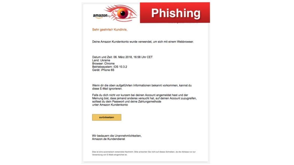 2018-03-07 Amazon Phishing
