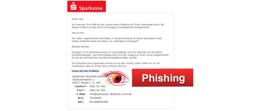 2018-03-07 Sparkasse Phishing