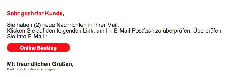 2018-03-08 LBB Spam-Mail Sie haben eine neue Botschaft