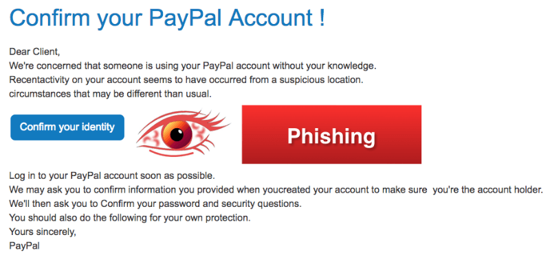 2018-03-12 PayPal Spam Mail Phishing Your Account Temporarily Locked