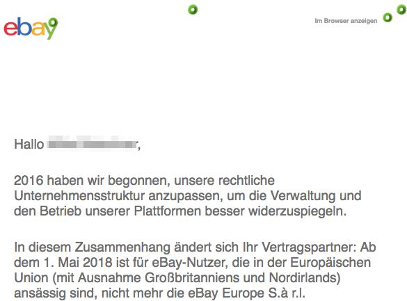 2018-03-27 E-Mail von eBay zu Aenderung der AGB