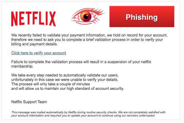 2018-03-28 Netflix Phishing Your password has been changed !