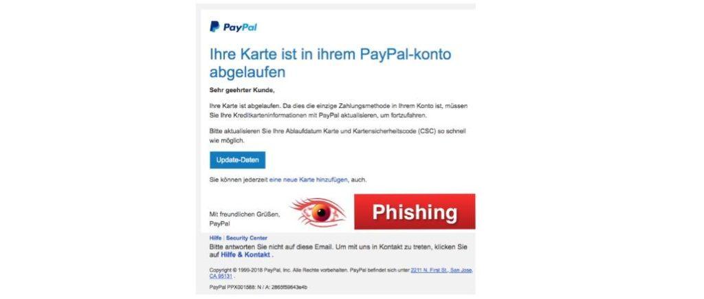 2018-03-29 PayPal Phishing