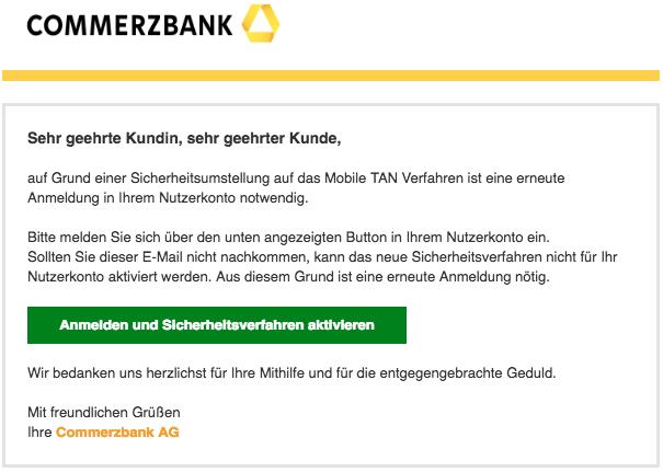 2018-03-30 Commerzbank Spam Neu Commerzbank-Sicherheit Ref.Nr.