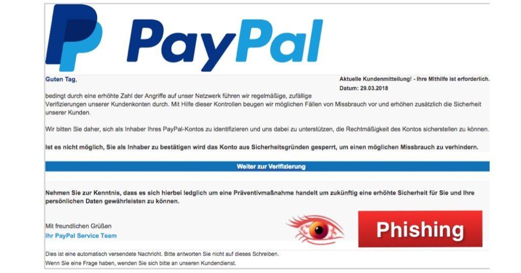 2018-04-03 PayPal Phishing