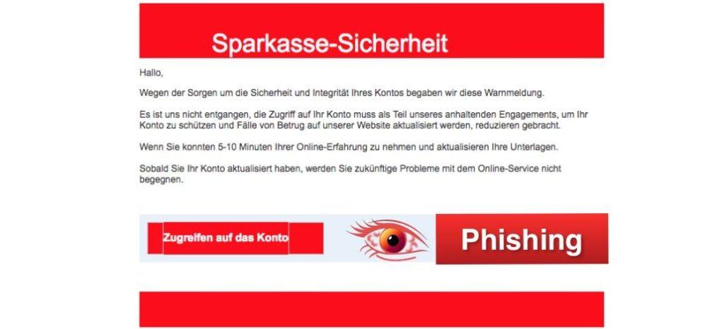 2018-04-03 Sparkasse Phishing