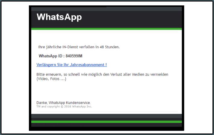 2018-04-20 WhatsApp Phishing