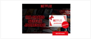 2019-09-20 E-Mail Gewinnspiel kostenloses Jahresabo Netflix