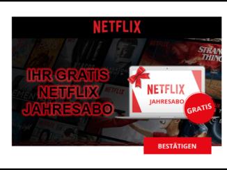 2019-09-20 E-Mail Gewinnspiel kostenloses Jahresabo Netflix