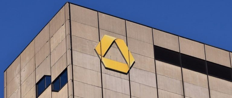 Commerzbank Haus Logo Symbolbild