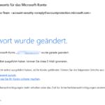 Microsoft Konto Kennwort ändern 7