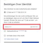 Microsoft Konto Kennwort zurücksetzen 4