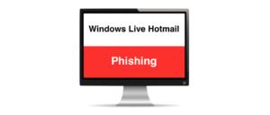 Windows Live Hotmail Phishing Symbolbild