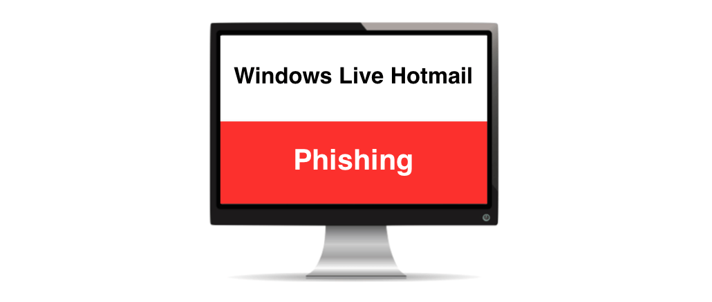 Windows Live Hotmail Phishing Symbolbild