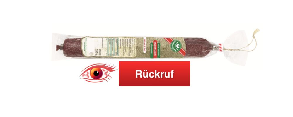 Kaufland Rückruf: K-Classic Sauerkirschen - Glasscherben