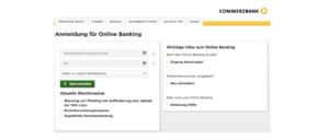 SMS führt auf Fake-Webseite im Namen Commerzbank
