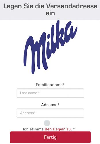 Whatsapp Milka Korb