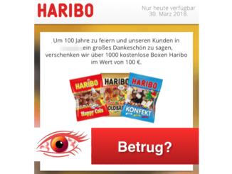 WhatsApp Kettenbrief Haribo