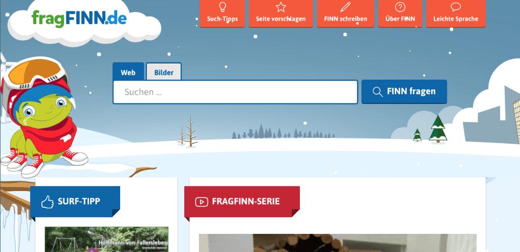 fragFINN - die Suchmaschine Kinder
