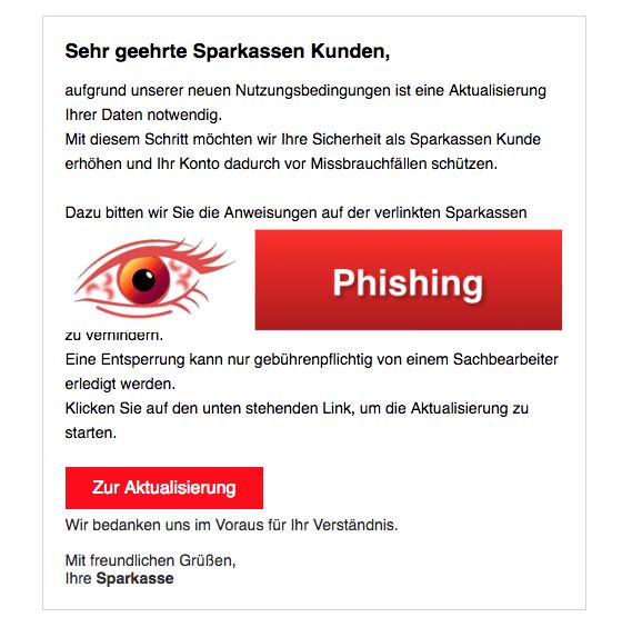 2018-04-09 Sparkasse Spam Aktualisierung Nutzungsbedingungen