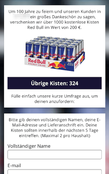 2018-04-16 Kettenbrief WhatsApp eine kostenlose Kiste Red Bull 3