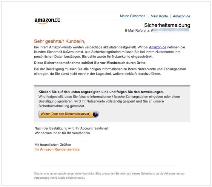 2018-04-20 Amazon Phishing