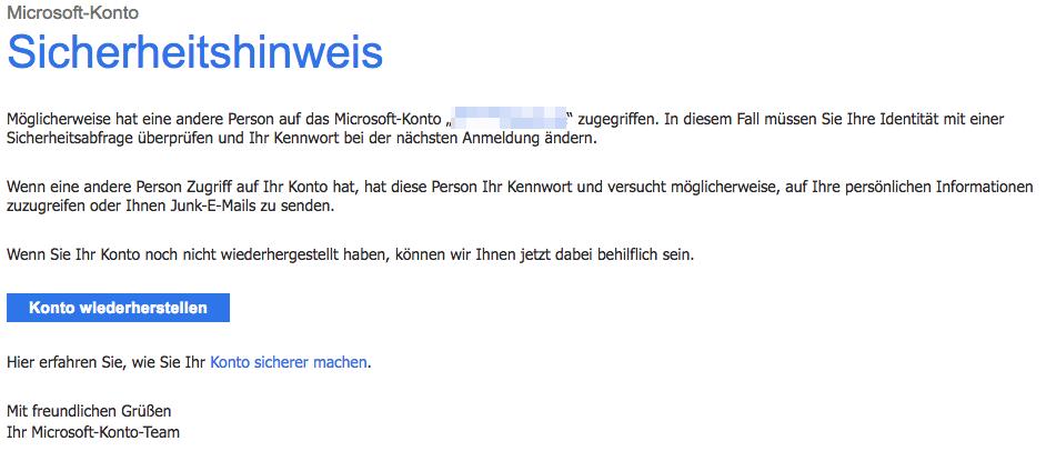 2018-04-23 Sicherheitshinweis fuer das Microsoft-Konto
