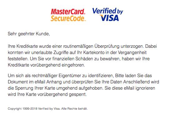 Spam Mastercard