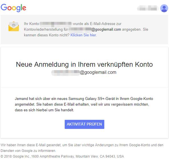 2018-07-09 Google E-Mail