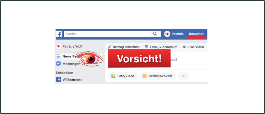 Besucher Facebook Profils Sehen