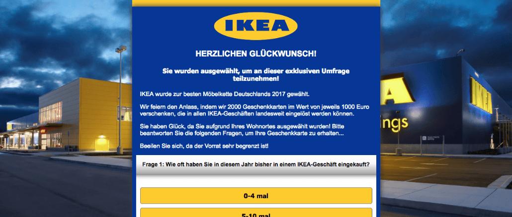 Vorsicht abofalle gewinnspiele im namen von ikea sind betrug - Ikea mobel namen ...